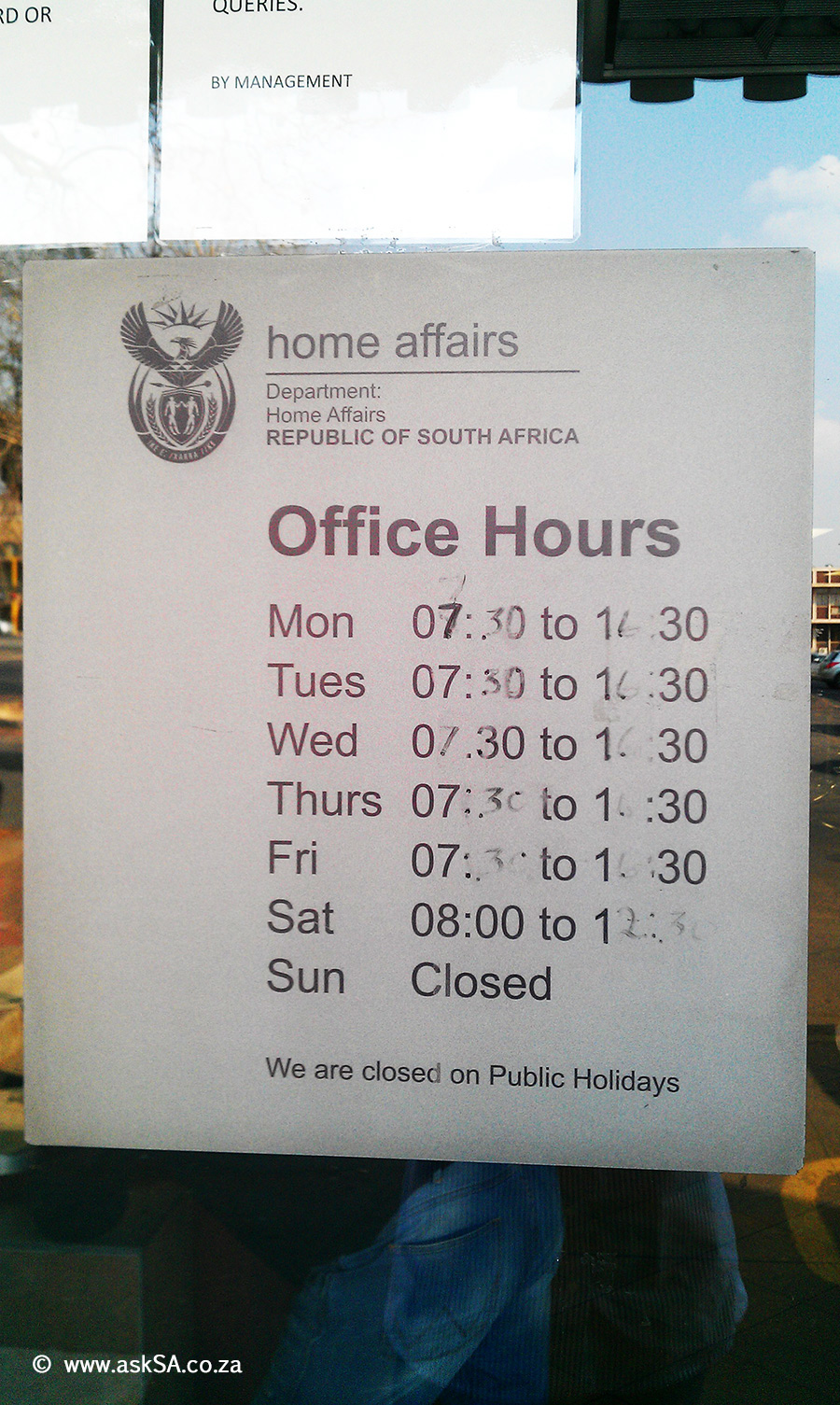 Home Affairs Edenvale - Opening Hours